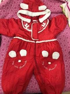 Winter suit for Girls 2-3 years old