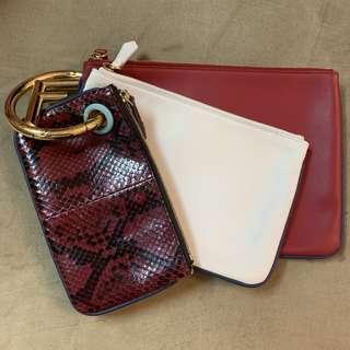 FENDI Triplette Pouch (Exotic Leather Version)