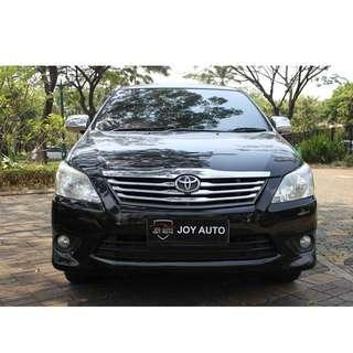 Toyota Innova 2.0 G AT 2013 Hitam