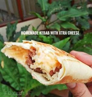 Kebab - Frozen,  Homemade with Extra Cheese
