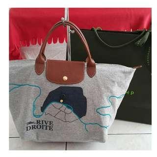 Longchamp Le Pliage Rive Droite Short Handle
