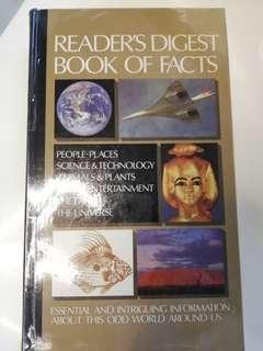 Readers digest book of facts