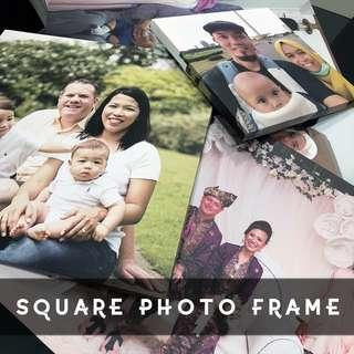 🚚 Personalised Square Stretched Frame