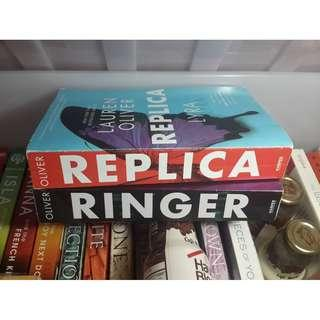 REPLICA / RINGER Complete Series by Lauren Oliver