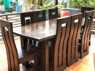 8 Seater Gmelina Dining Set