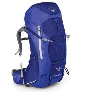 OSPREY ARIEL AG 65 L TIDAL BLUE WM hiking camping backpack 童軍 遠足 行山 露營 背囊 背包 登山包
