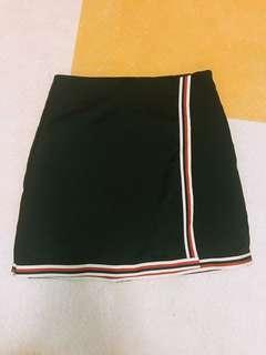 黑色短裙 A Line