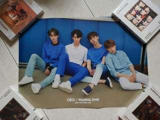 W1 x CeCi double sided poster instock