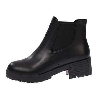 • Preorder • Black Platform Boots