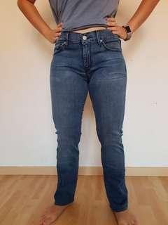 7 seven for all mankind lexie straight leg women jeans.