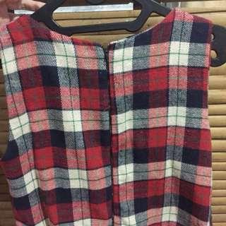 Flanel jumpsuit