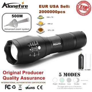 AloneFire G700 LED Flashlight