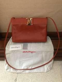 5ea4ca901a482d Authentic Vintage Salvatore Ferragamo Clutch/Crossbody Bag