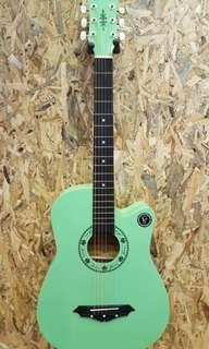 Jielisi JS-38CGR 38 inch acoustic guitar Green 2018 New