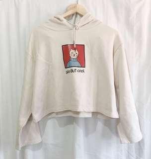Korean Cropped hoodie