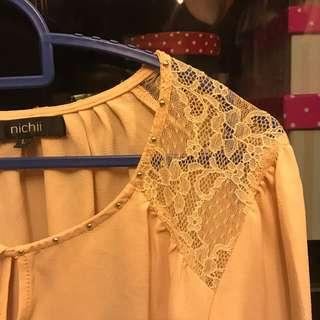 NICHII Peach Women Top