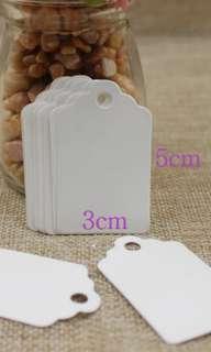 Wholesale white tag