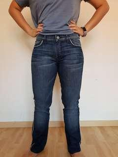 7 seven for all mankind straight leg women jeans.
