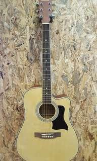 TengHai TH-41A 41 inch acoustic guitar Natural Brand New