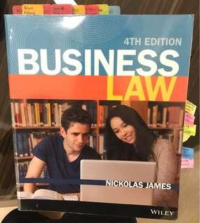 Commercial law textbook (Business Law 4th Edition)
