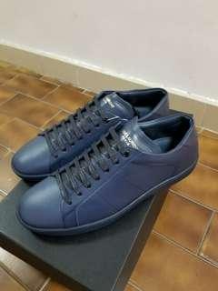 Saint laurent 40.5 navy sneakers