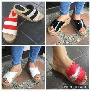 "💕Abaca Double Banso 2"" Wedges💕"