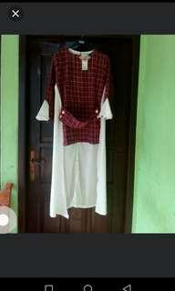 New Maroon Tunik