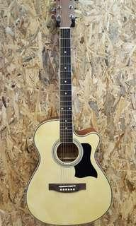 TengHai TH-40B N 40 inch acoustic guitar with EQ New 2018