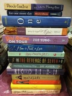 Buku / Novel Import (Baru dan Preloved)
