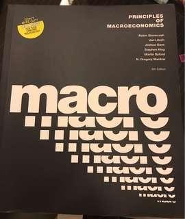 ECON1016 Principles of Macroeconomics