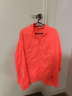Neon running jacket