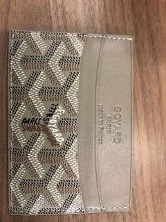 Men's Goyard Wallet