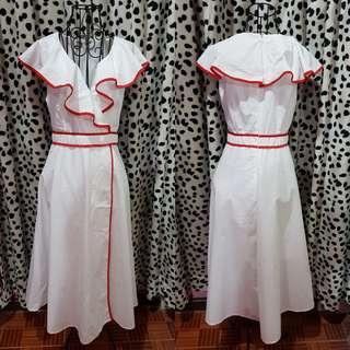 Midi Ruffles Dress