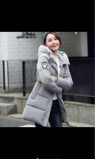 Winter coat -Grey (New)