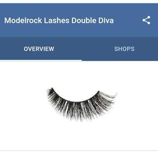 Modelrock Lashes Double Diva Doubled Layer Lashes