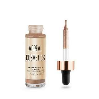 Appeal Cosmetics Platinum Highlighter Drops