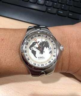 Exclusive Ebel Collectible GMT Fully Automatic Watch In Pristine Condition