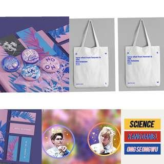 [Sharing] Ongniel fansite goods