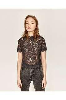 Zara Classy Lace Top