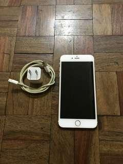 Pre-loved Iphone 6s plus 64gb Globelocked Gold