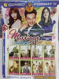 Kaset dvd drama korea Marriage Contract