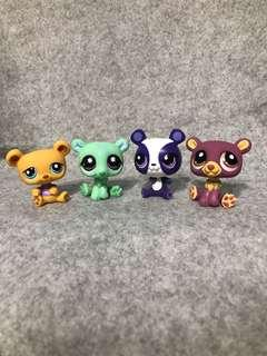 Littlest pet shop bears