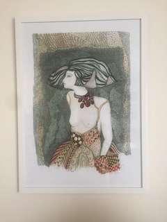 Susie Q original artwork