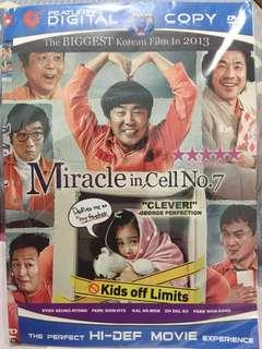 Kaset dvd film korea Miracle In Cell No 7