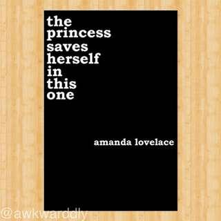 FREE! The Princess Saves Herself In This One by Amanda Lovelace