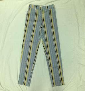 H&M Striped Trousers
