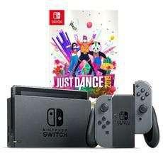 Nintendo Switch Grey Console Local Set + Just Dance 19