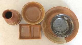 Clay Dinnerware 5-piece Set