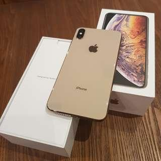 (TRADE) iPhone XS Max 256 GB Gold Like New