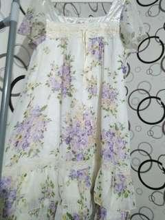 Dress Bunga Vintage